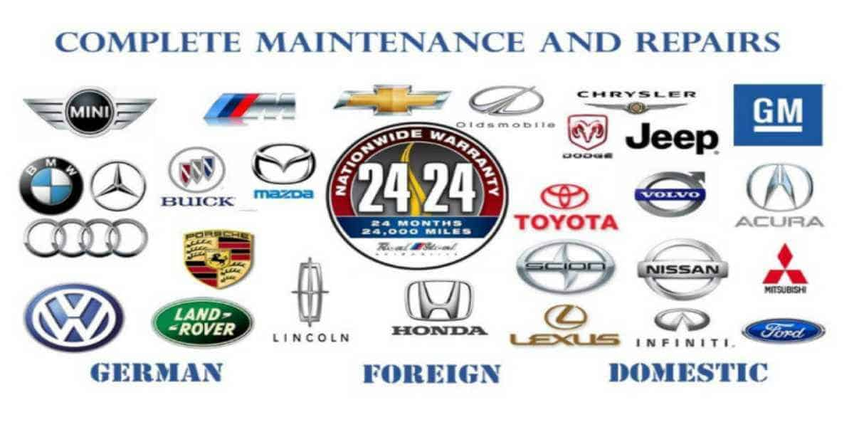 Maintenance Service European and american cars Reel Steel automotive jacksonville